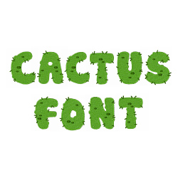 Home Format Fonts Embroidery Font Cactus Font From Hopscotch