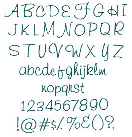 Gallery For Gt Hand Embroidery Letters