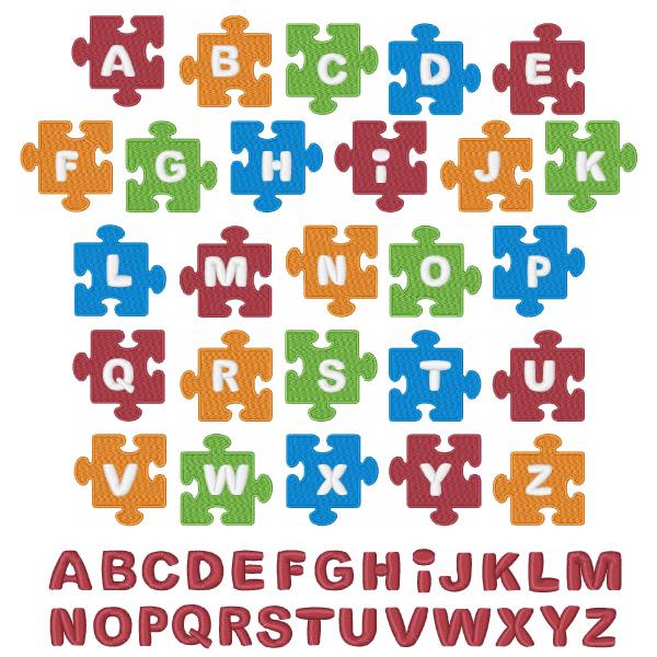Puzzle Piece Font Puzzle Piece Solid Font