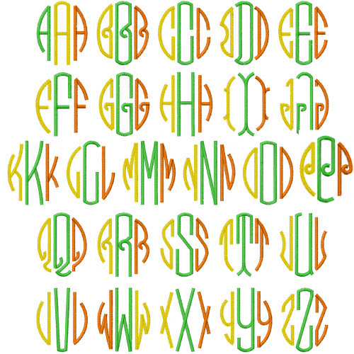Alphabet font p http www pic2fly com circle monogram font free html