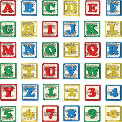 Toy Blocks Font 67