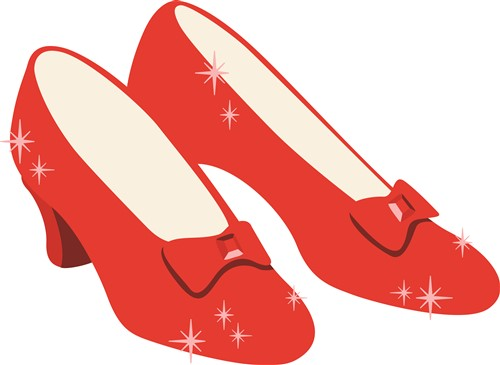 club membership start piling up the free stuff now become an ann s    Ruby Slippers Vector