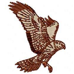 Snowy Owl embroidery design