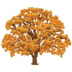 Oak Tree embroidery design
