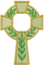 Catholic Cross embroidery design