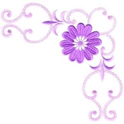 EmbellishmentsMorango Designs Embroidery Design Purple