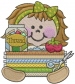 Seamstress embroidery design