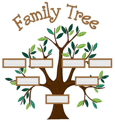 sayings embroidery design family tree from concord collections