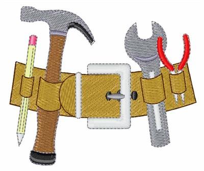 Power Tools Cartoon Tools Embroidery Desig...