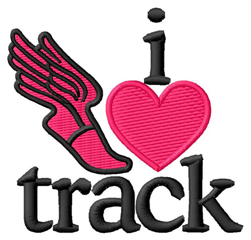 Foot Track i Love Track/winged Foot