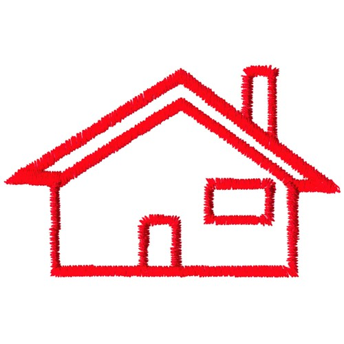 ... : Simple House Outline , House Clipart , House Outline For Kids
