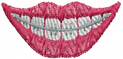 Teeth Braces Design Teeth Braces Embroidery Design