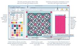 Electric Quilt 8 Quilt Design Software