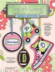 Tag-A-Long Designs Family Edition CD