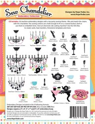 Sew Chandelier Embroidery Designs CD