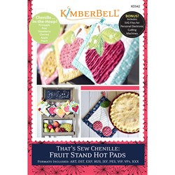 That's Sew Chenille: Fruit Stand Hot Pads Designs CD