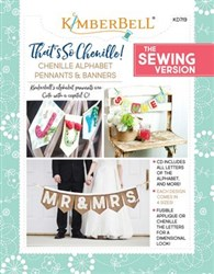 That's so Chenille Alphabet Pennants and Banners Designs CD (Sewing Version)