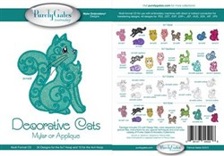 Decorative Cats Mylar