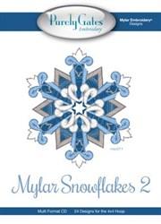 Mylar Snowflakes 2 CD