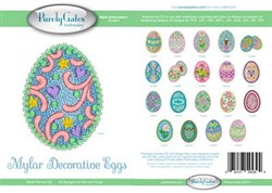 Mylar Decorative Eggs