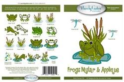 Frogs Mylar & Applique