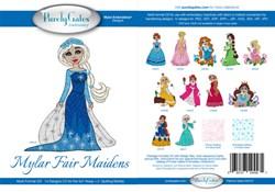 Mylar Fair Maidens