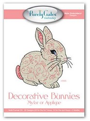 Decorative Bunnies Mylar
