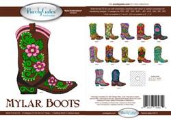 Mylar Cowboy Boots
