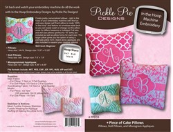 Piece of Cake Pillows
