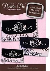 Katie Clutch Machine Embroidery Designs CD