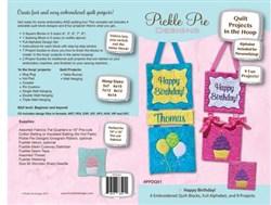 Happy Birthday Quilt Project: In Hoop Designs CD