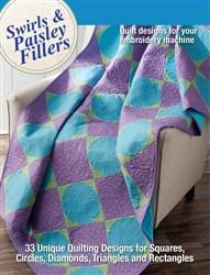 Swirls & Paisley Fillers Quilt Designs