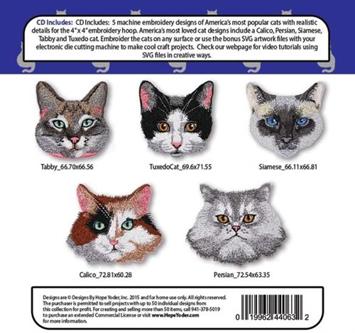 Cat Tales Embroidery Designs Cd Annthegran