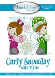 Mylar Curly Snowday