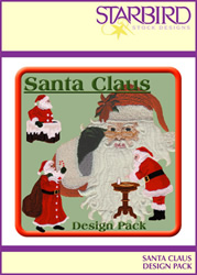 Santa Claus Design Pack embroidery design pack