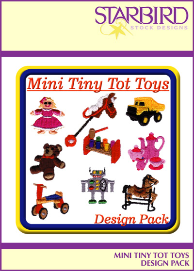 Tiny Tots Toys : Tiny tot toys pack embroidery collection annthegran