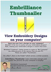 Embrilliance Thumbnailer Software