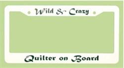 License Plate Frame - Wild & Crazy