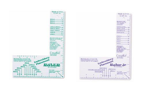 Mesmerizing image with regard to printable embroidery placement ruler