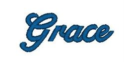 Alphabet Xpress Font- Grace embroidery font