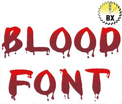 Blood Machine Embroidery Alphabets | AnnTheGran com