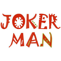 Jokerman Fun Machine Embroidery Alphabets | AnnTheGran com