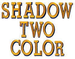 2 Color Shadow Machine Embroidery Alphabets | AnnTheGran com