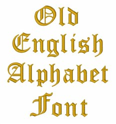 Old english alphabet embroidery font annthegran old english alphabet embroidery font altavistaventures Choice Image