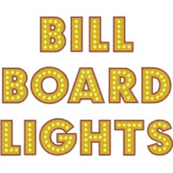 Billboard Lights Font Machine Embroidery Alphabets | AnnTheGran com