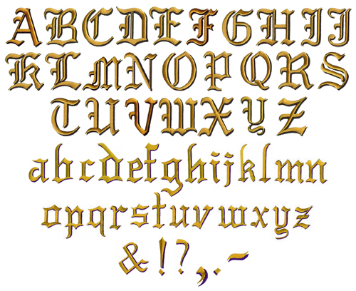 old english font letters puff embroidery font annthegran 13898 | gsd0018 p