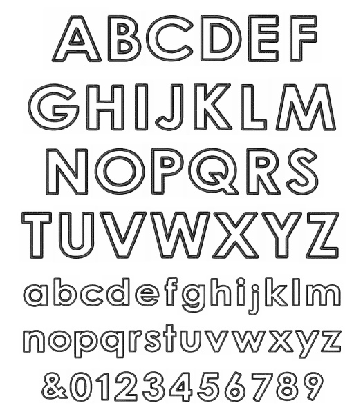 Alphabet Letter Search together with Graphic Design 101 as well Fancy Bubble Letters Alphabet Bubble Writing Alphabet A Z How To Draw Bubble Letters In Easy further DotMatrix also GNFT112510. on lower case letters