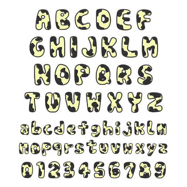 Free Pes Alphabet Embroidery Designs