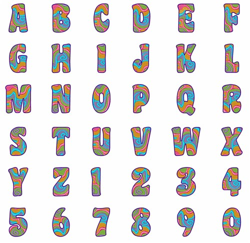 Sew On Letters And Numbers