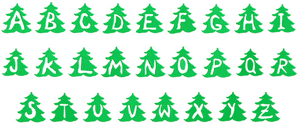 Large Christmas Tree Embroidery Designs. Large. zestrio Decorating ...